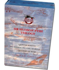 Sir Hudson Fysh Trilogy Boxed Set (Front)